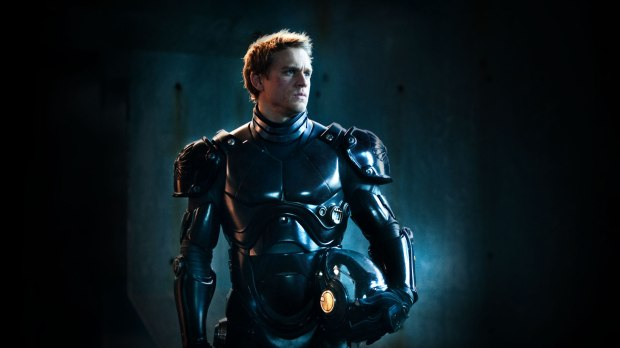 (Not Charlie Hunnam the robot fighter from Pacific Rim)