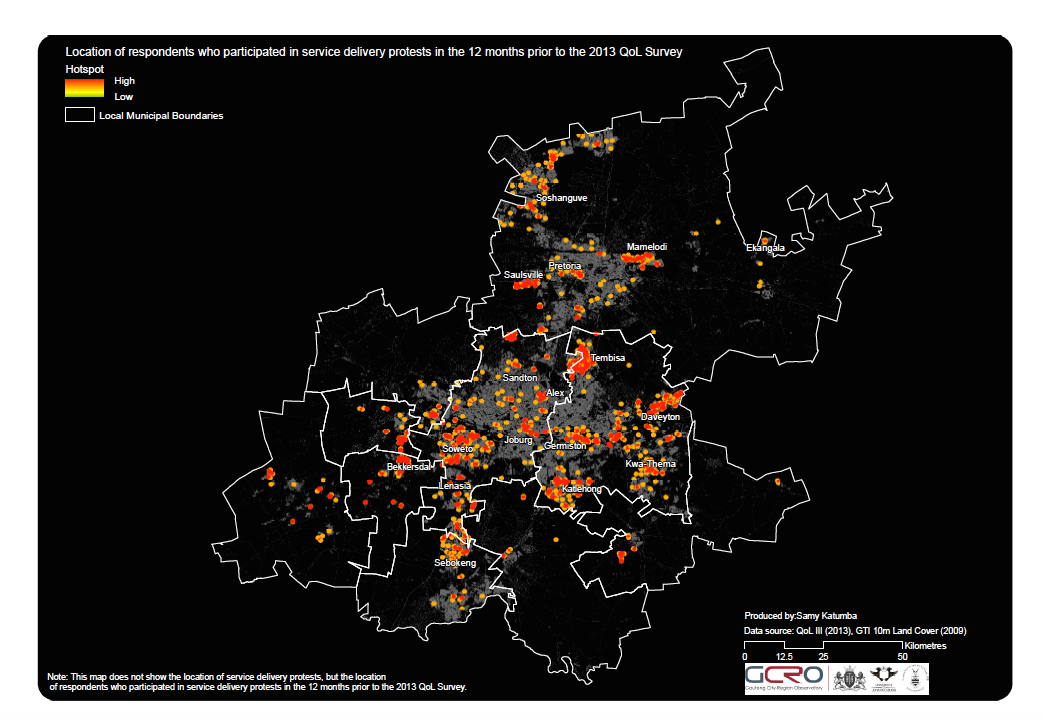 Notes on a city view from the book fair home map showing service delivery protest hotspots gcro gumiabroncs Gallery