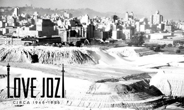 Vintage postcard, Love Jozi'd (lovejozi.com)